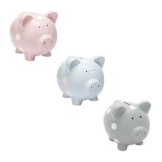 ELEGANT BABY CLASSIC DOT PIGGY BANK