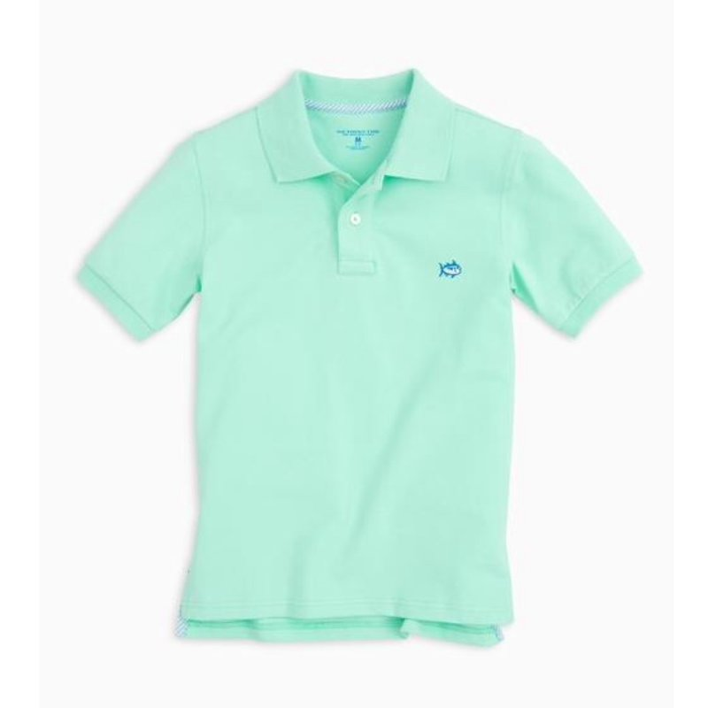 SOUTHERN TIDE Y SS SKIPJACK POLO- OFFSHORE GREEN