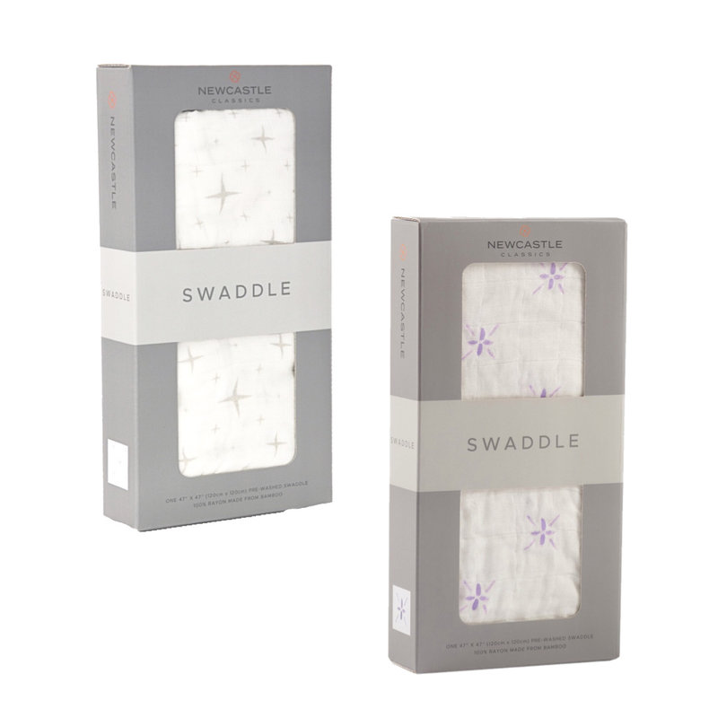 NEWCASTLE CLASSICS LLC BAMBOO SWADDLE BLANKET