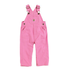CARHARTT CANVAS BIB OVERALL - ROSE