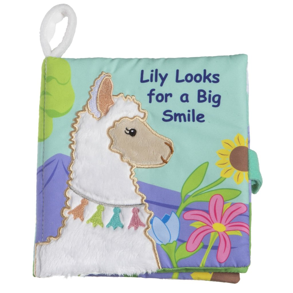 MARY MEYER LILY LLAMA SOFT BOOK
