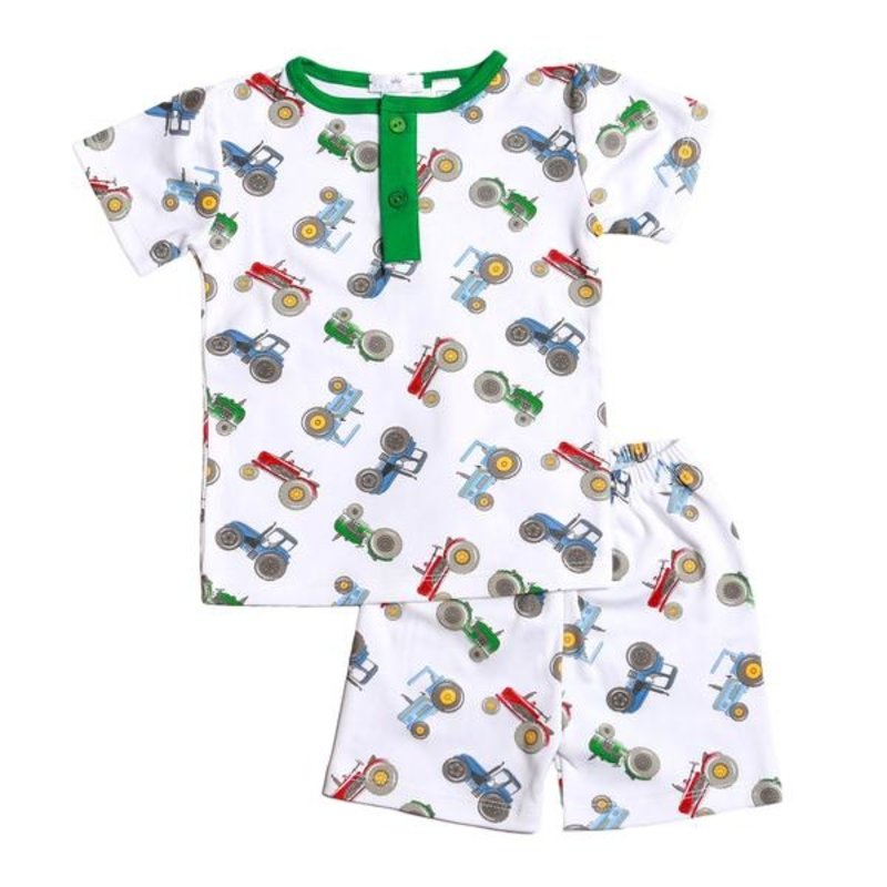 BABY BLISS COLLECTION TRACTOR COLLECTION PIMA LOUNGEWEAR