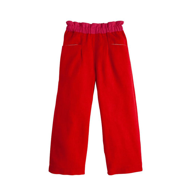 LITTLE ENGLISH PALAZZO PANTS- POPPY