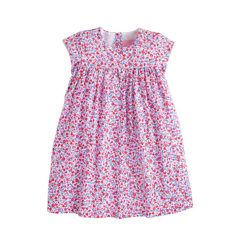 LITTLE ENGLISH CHARLOTTE DRESS- VALENTINE FLORAL