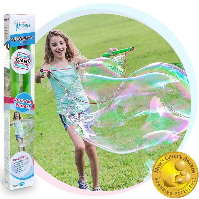 SOUTH BEACH BUBBLES WOWMAZING GIANT BUBBLE KIT