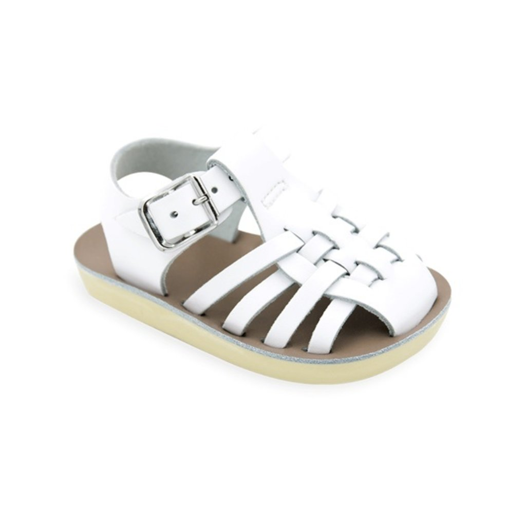 HOY SHOE COMPANY 4203 - BABY SAILOR WHITE
