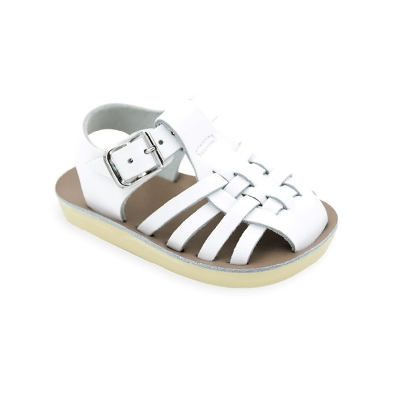 HOY SHOE COMPANY 4203 - BABY SAILOR WHITE
