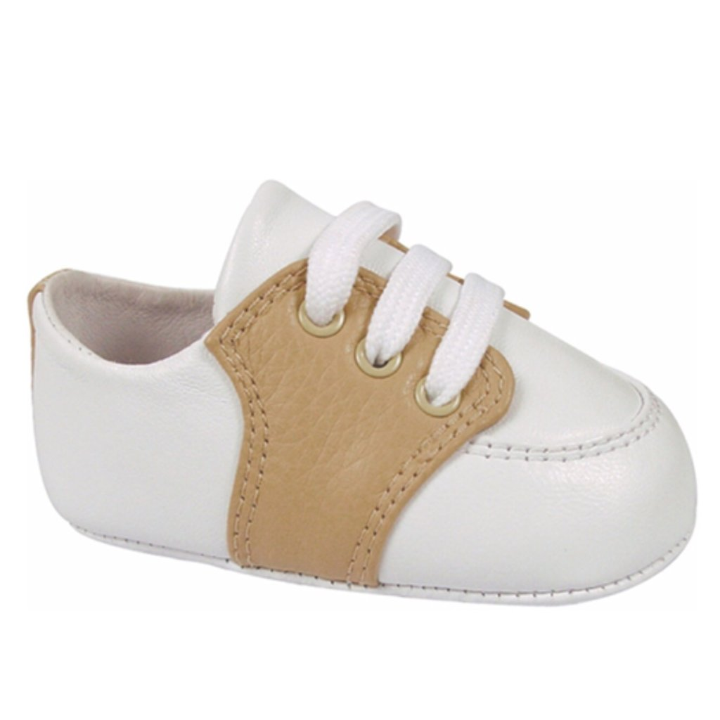 BABY DEER CONNER LEATHER SADDLE OXFORD