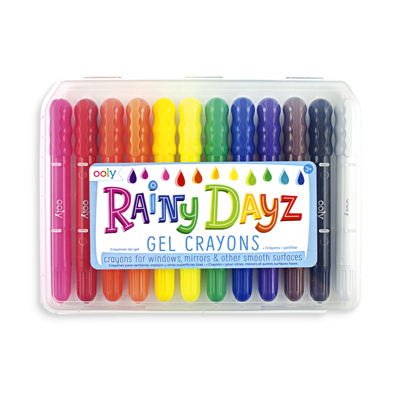 OOLY RAINY DAYZ CRAYONS- SET OF 12