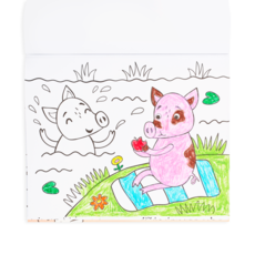 OOLY COLOR IN BOOKS- LITTLE FARM ANIMALS