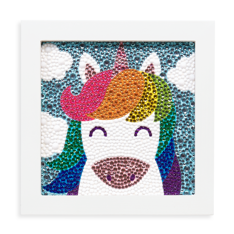 OOLY RAZZLE DAZZLE D.I.Y. GEM ART KIT- UNIQUE UNICORN