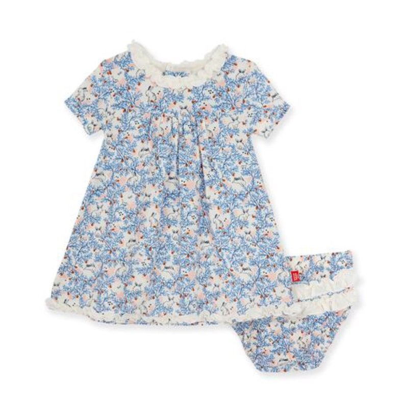 MAGNIFICENT BABY SOMEBUNNY MODAL MAGNETIC DRESS AND DIAPER COVER