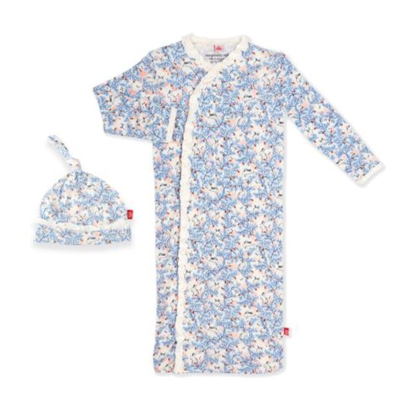 MAGNIFICENT BABY SOMEBUNNY MODAL MAGNETIC GOWN SET