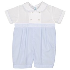 FELTMAN BROTHERS DOUBLE BREASTED ROMPER