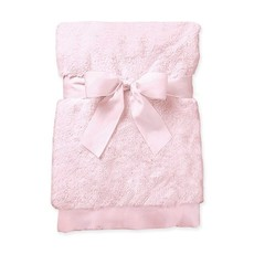 SWIRLY SNUGGLE BLANKET- PINK