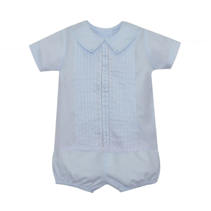 BABY SEN BLUE JACKSON SHORT SET