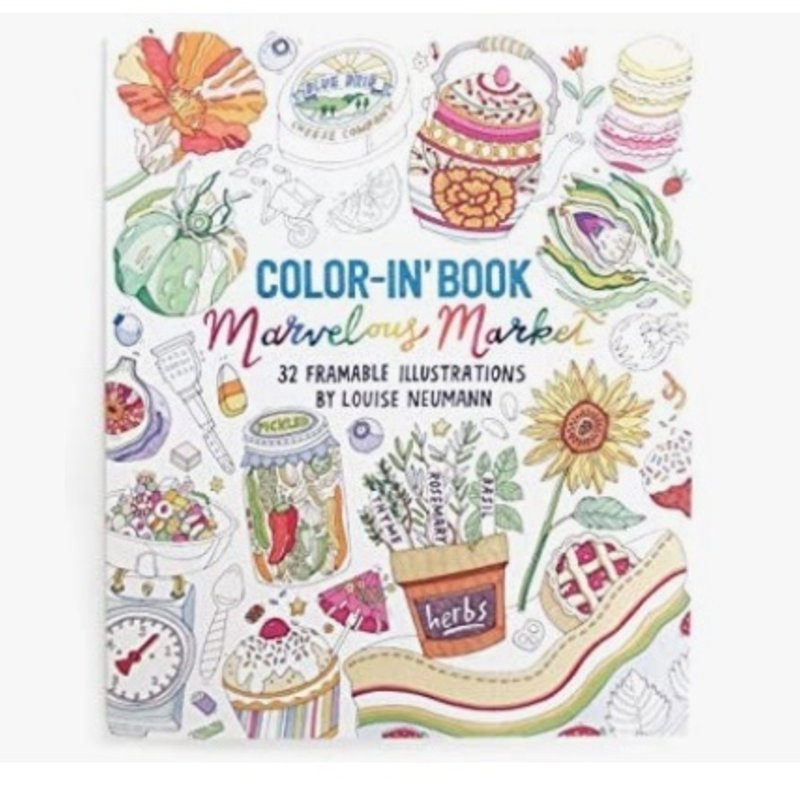OOLY COLOR IN BOOKS- MARVELOUS MARKET