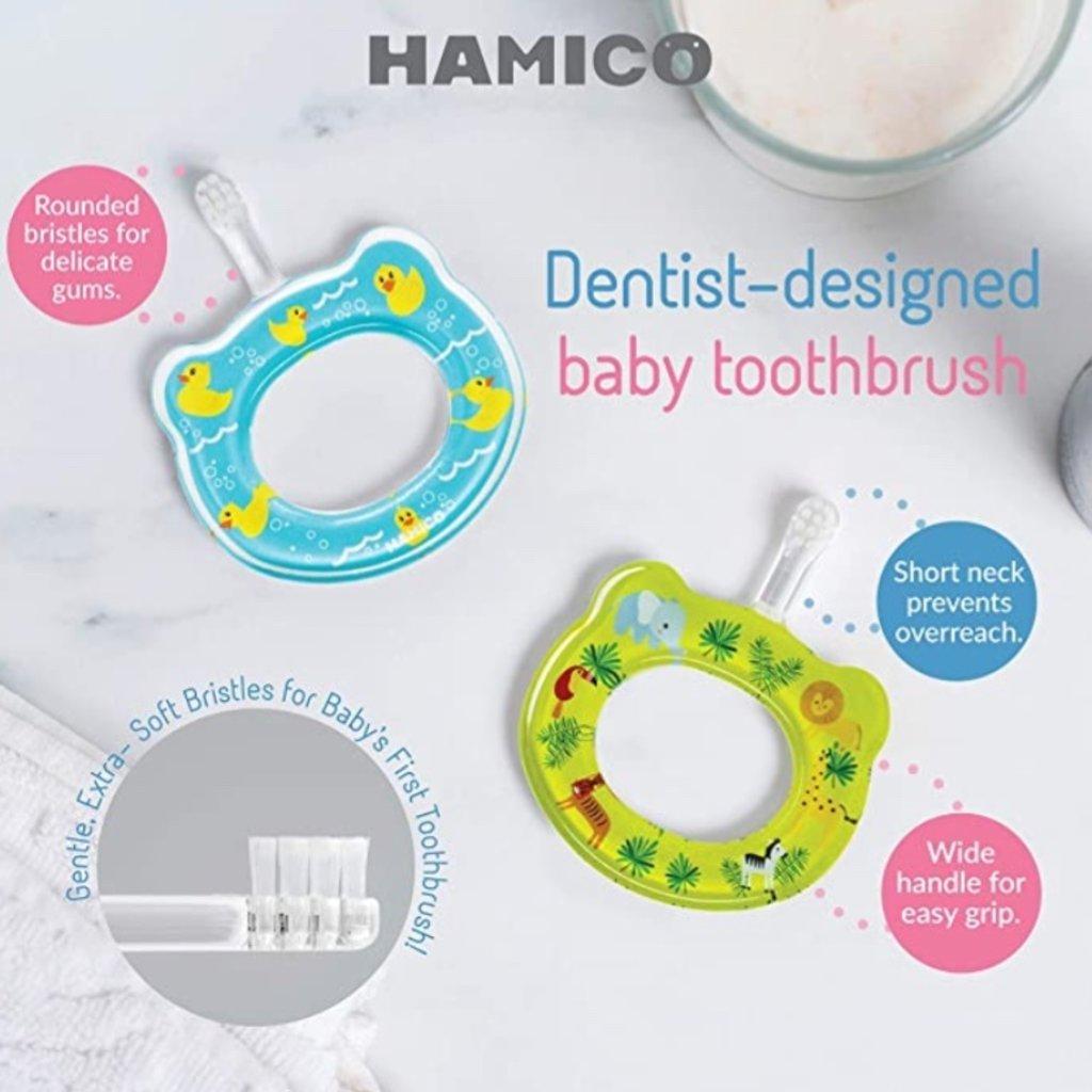 HAMICO BABY HAMICO TOOTHBRUSH- UNICORNS