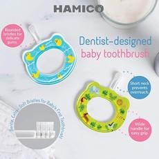HAMICO BABY HAMICO TOOTHBRUSH- RAINBOWS