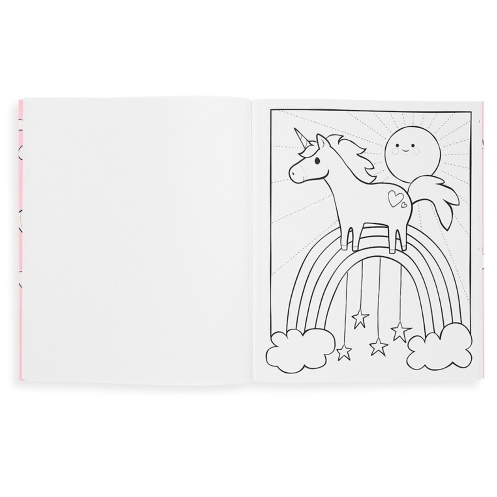 OOLY COLOR IN BOOKS- ENCHANTING UNICORNS