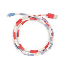 BANDO BACK ME UP! CHARGING CORD - SWIM CLUB STRIPE