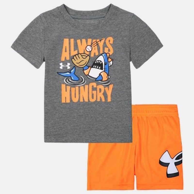 UNDER ARMOUR UA ALWAYS HUNGRY SET- PITCH GRAY