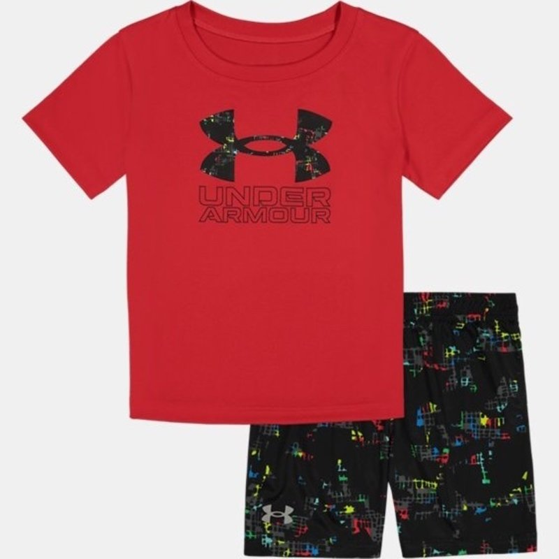 UNDER ARMOUR UA ABSTRACT FORCE BIG SYMBOL SET- RED