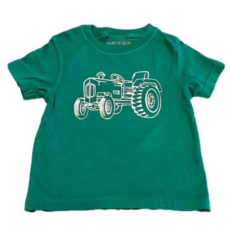MUSTARD AND KETCHUP KIDS TRACTOR TEE