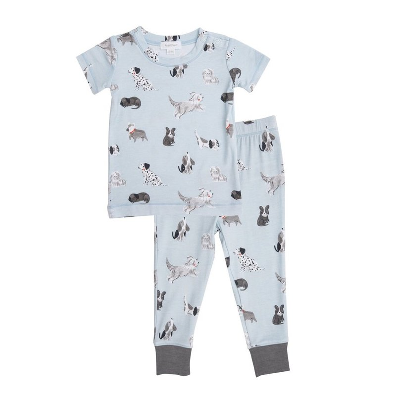 ANGEL DEAR GREY HOUNDS LOUNGE WEAR SET- GREY