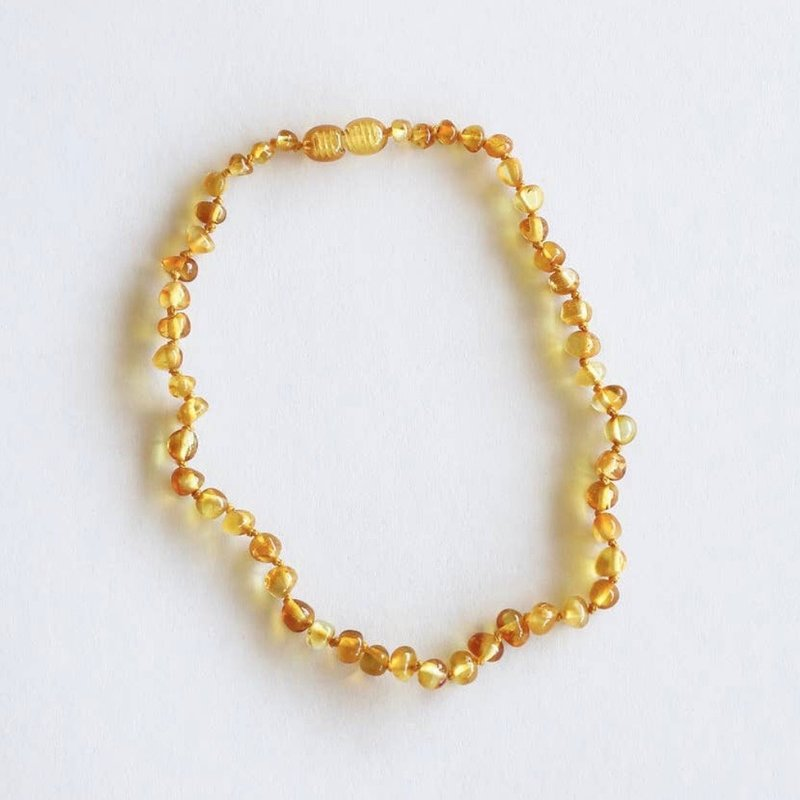 CanyonLeaf POLISHED HONEY AMBER NECKLACE