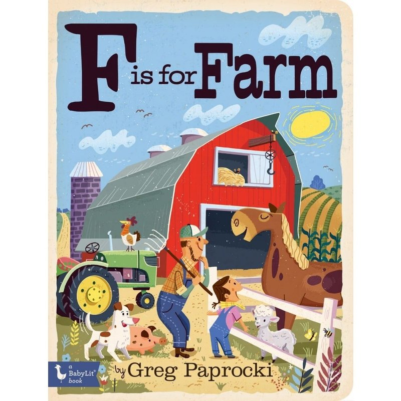 GIBBS SMITH PUBLISHER F IS FOR FARM