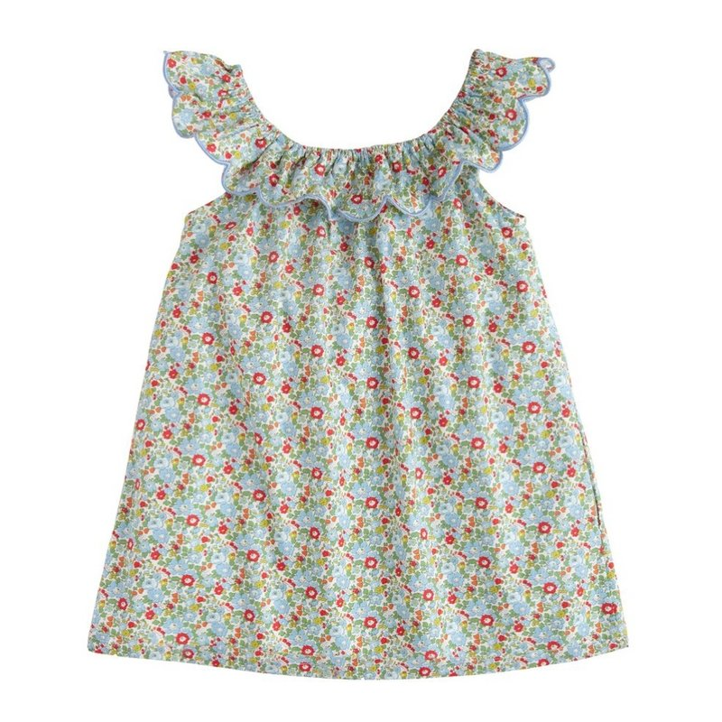 LITTLE ENGLISH LIBERTY TOP- D'ANJO FLORAL