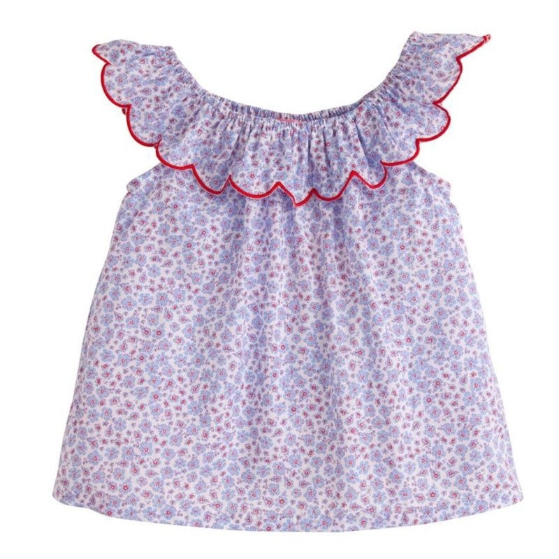 LITTLE ENGLISH LIBERTY TOP- TORY FLORAL