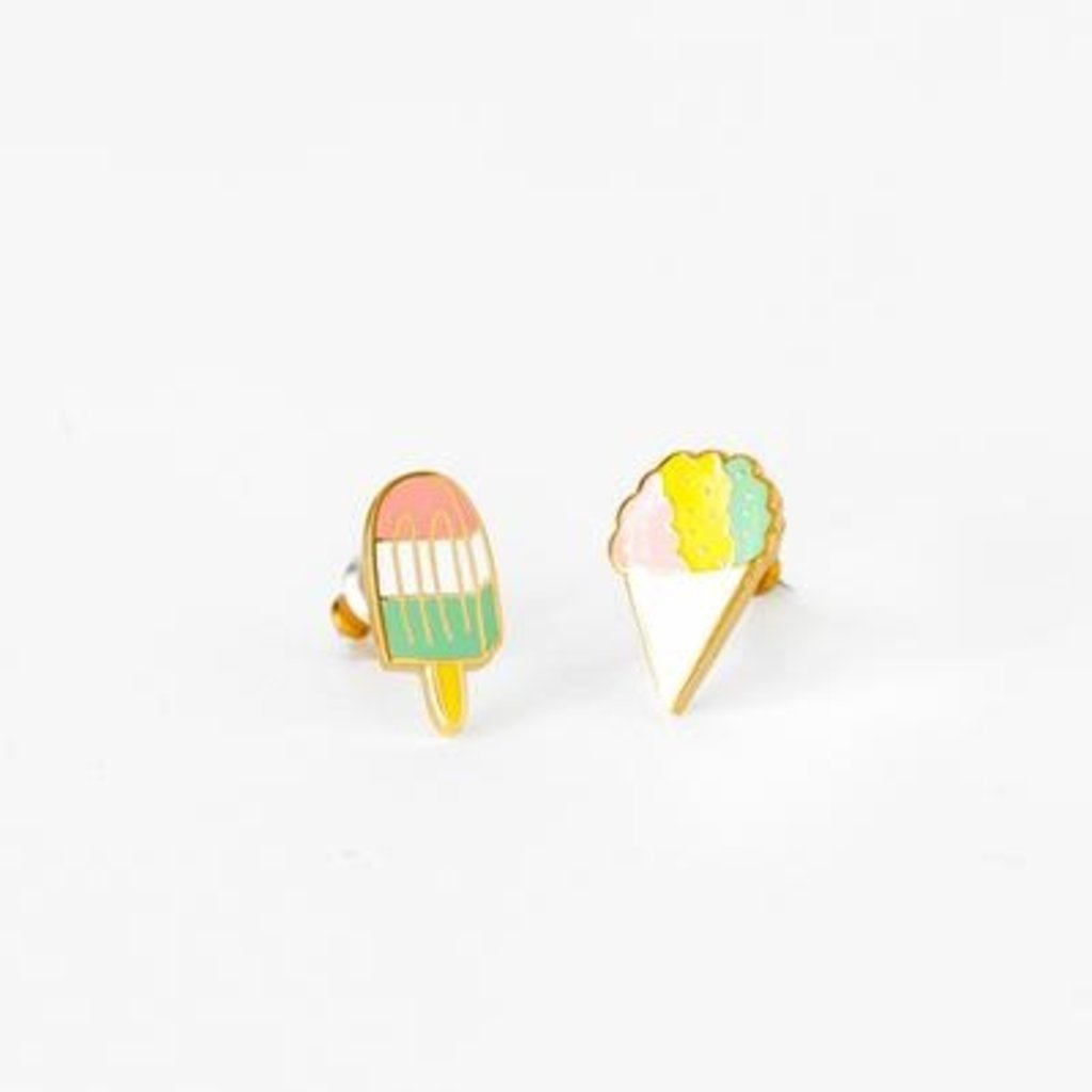 YELLOW OWL WORKSHOP EARRINGS - SNO CONE AND POPSICLE