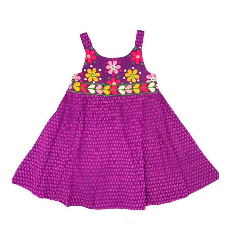 CHEENI MISHA DRESS- PURPLE