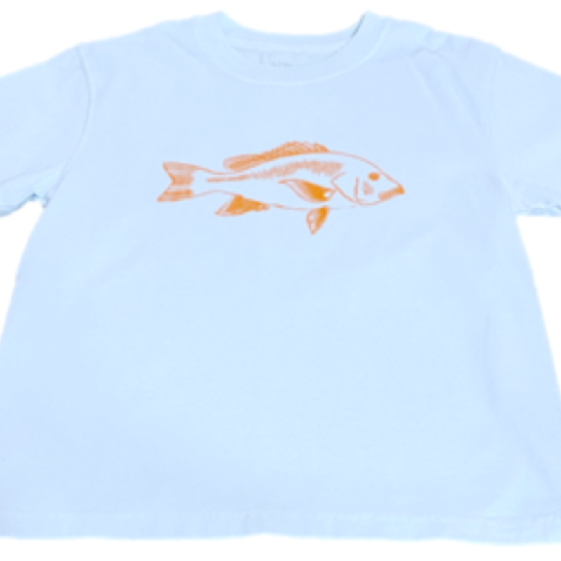 MUSTARD AND KETCHUP KIDS RED SNAPPER TEE