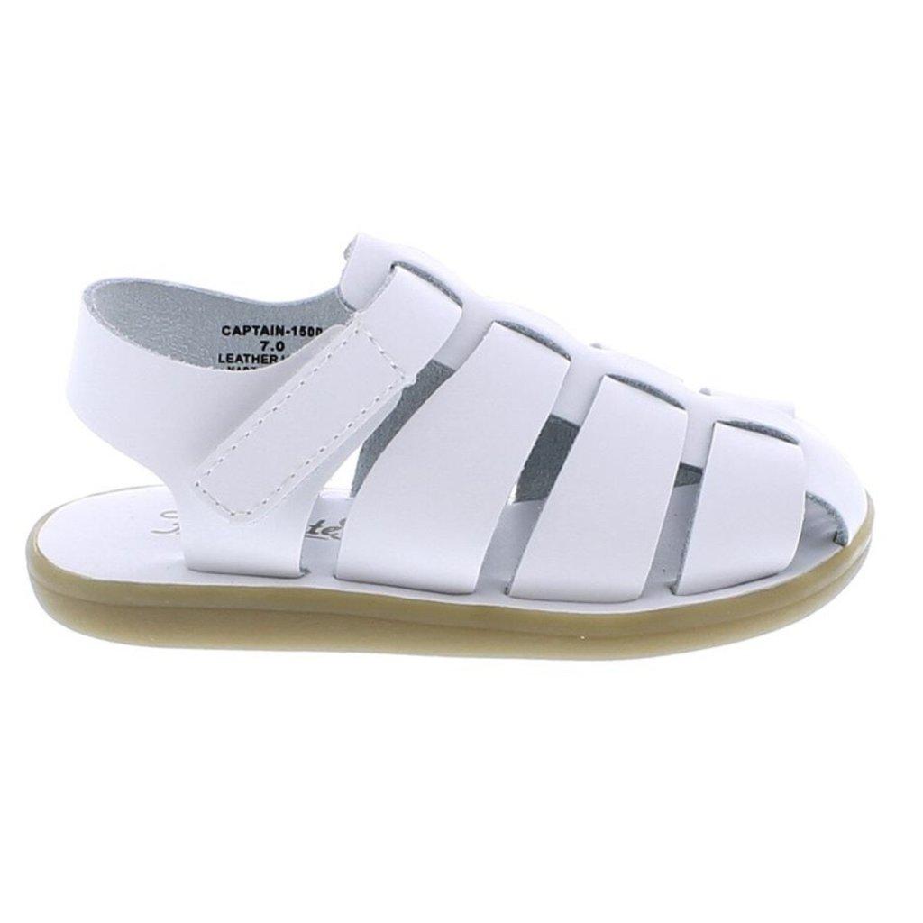 FOOTMATES CAPTAIN - WHITE