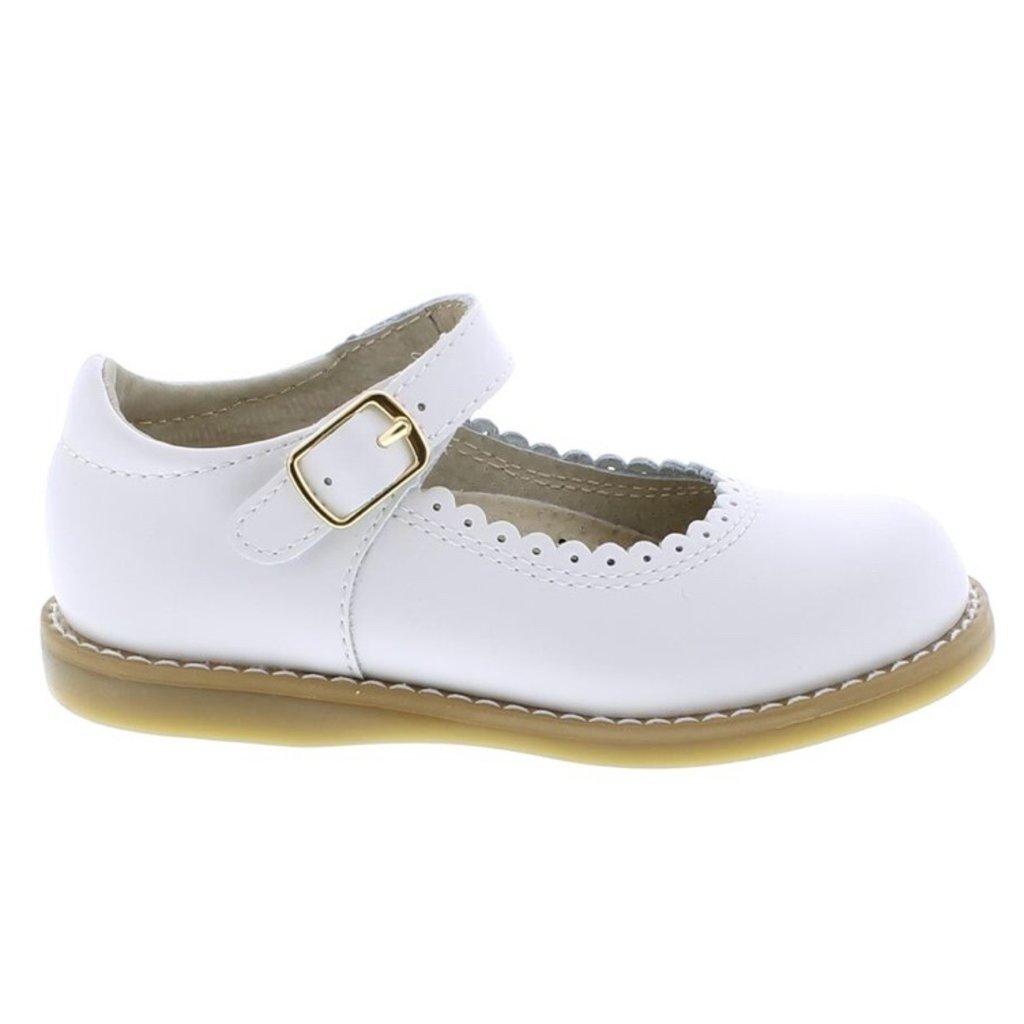FOOTMATES ALLIE - WHITE