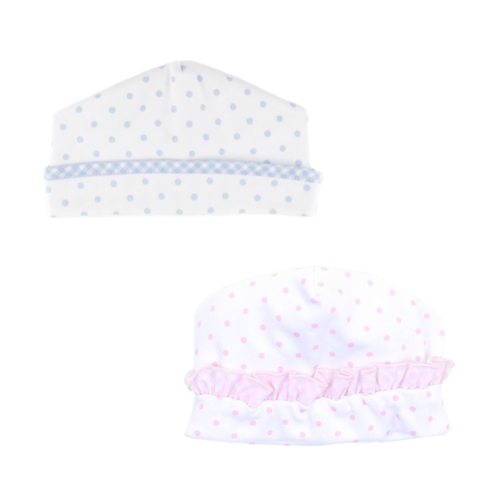 MAGNOLIA BABY GINGHAM DOTS HAT