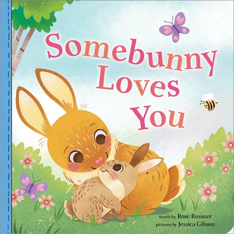 SOURCEBOOKS SOMEBUNNY LOVES YOU