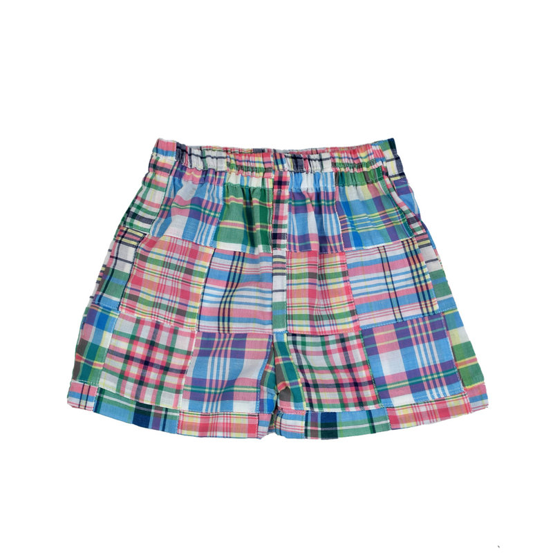 FUNTASIA TOO PATCHWORK SHORTS