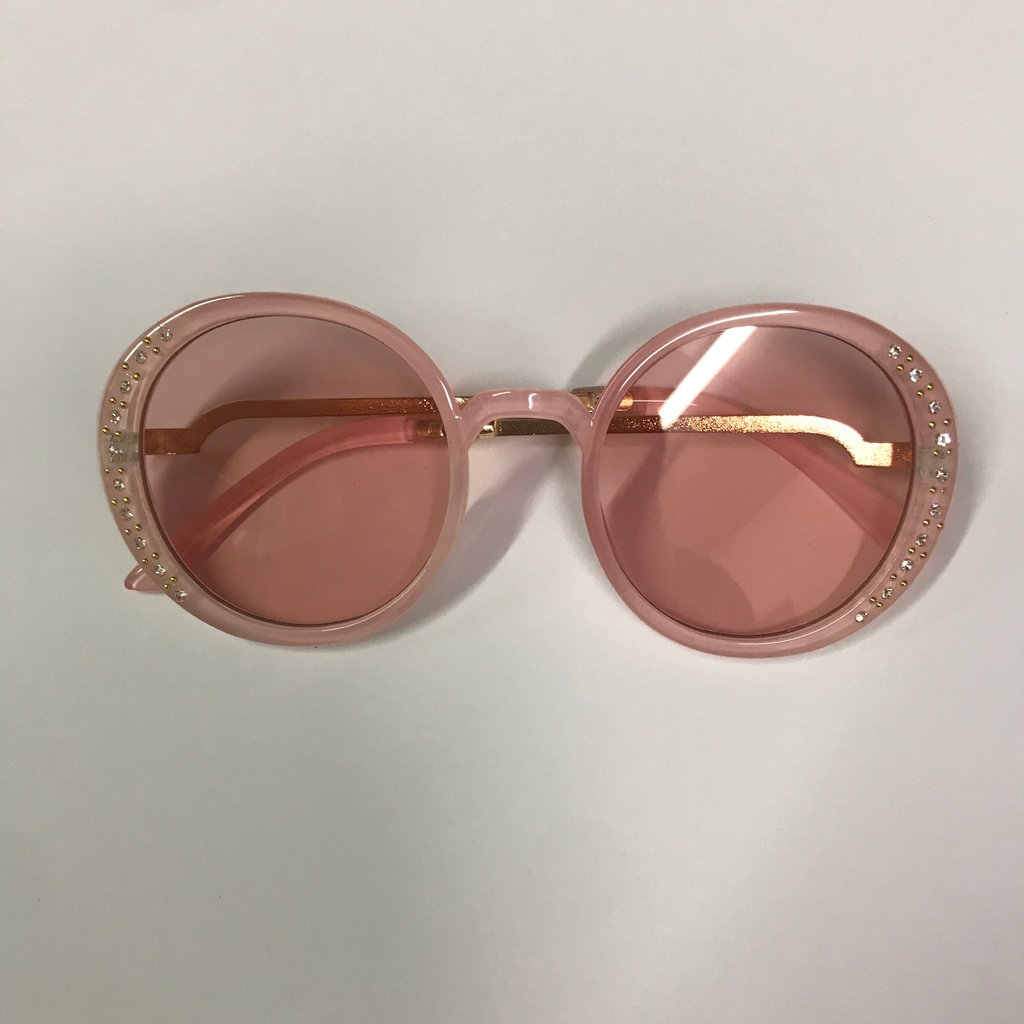 BEYOND THE RAINBOW KIDS SUNGLASSES- OVERSIZED WITH CRYSTALS