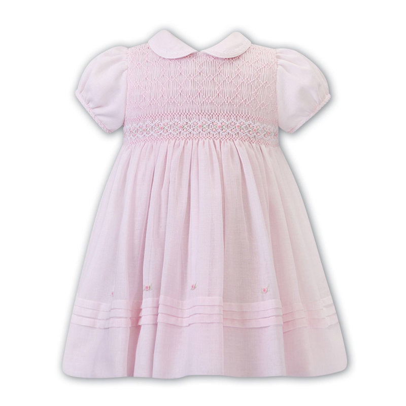 SARAH LOUISE 012273- P/W VOILE DRESS
