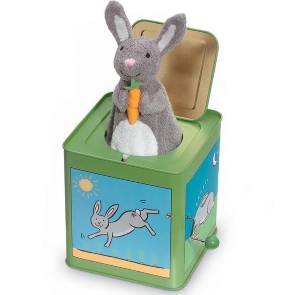 JACK RABBIT CREATIONS JACK IN THE BOX- BUNNY