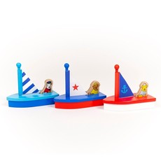 JACK RABBIT CREATIONS BOATS WITH DOGS