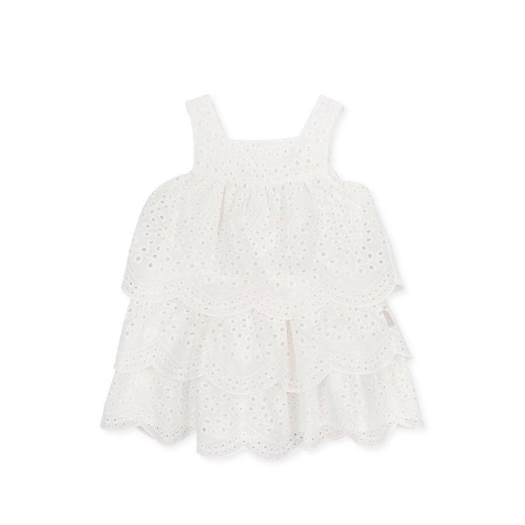 TUTTO PICCOLO DRESS- WHITE