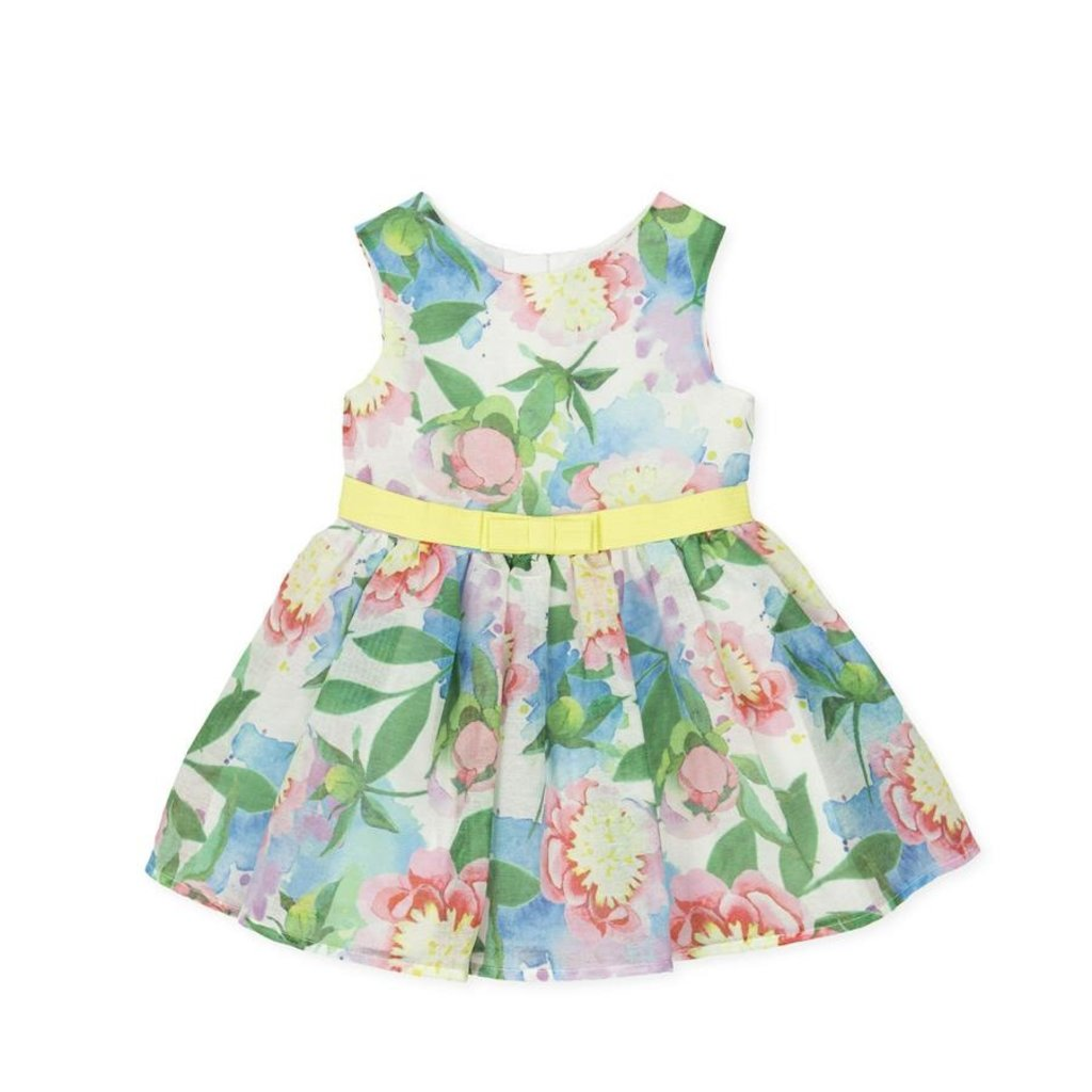 TUTTO PICCOLO DRESS- MULTICOLORED
