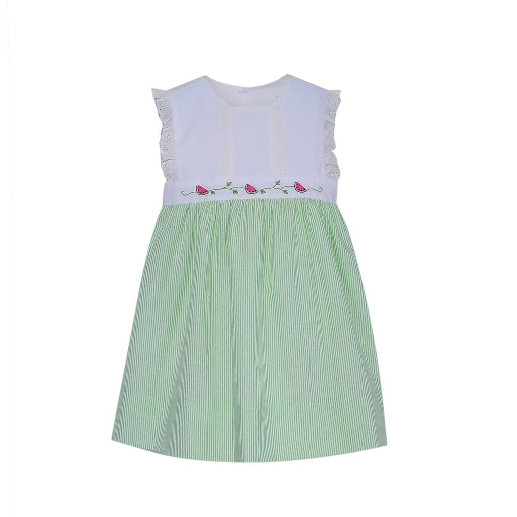 REMEMBER NGUYEN ANNABELLE DRESS- LIME GREEN
