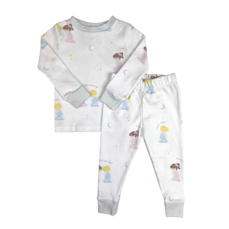 LULLABY SET SWEET PEA PJ SET - FOR THIS CHILD - BOY