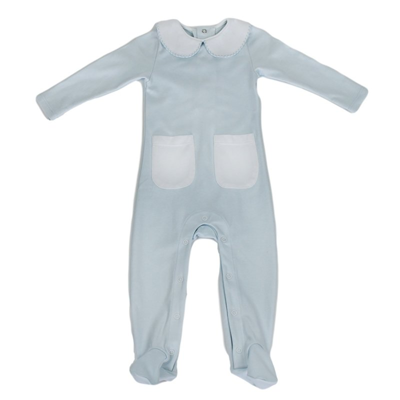 LULLABY SET ONCE UPON A TIME ONESIE- BLUE BABY CLASSICS